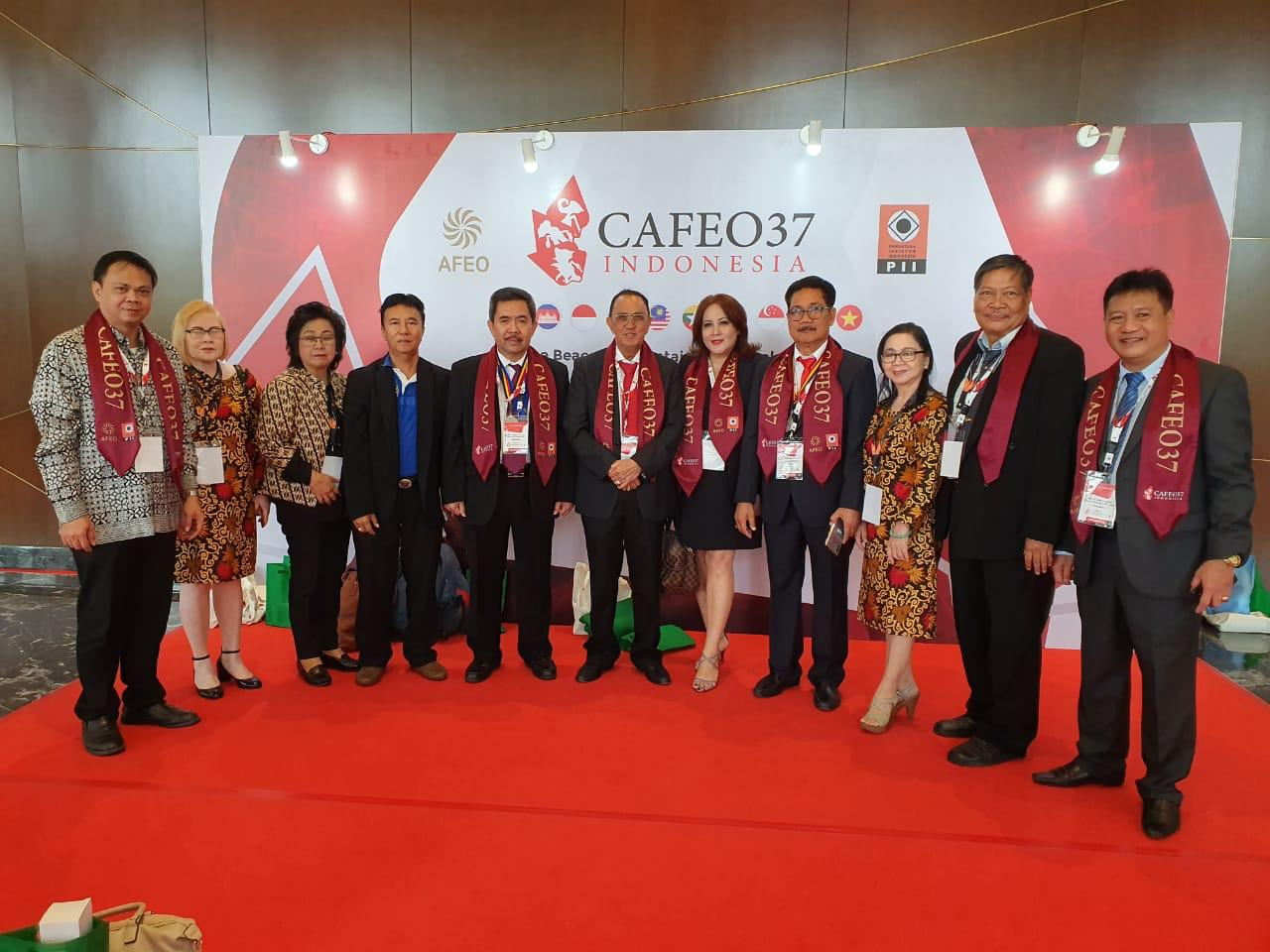 ROR Hadiri Acara Puncak Conference of ASEAN Federation of Engineerings Organizations