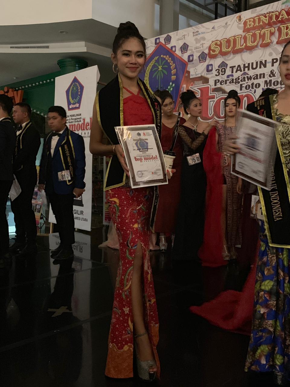 Masuk 4 besar ajang Top Model Indonesia 2019, Carcia Bawotong mengaku kaget