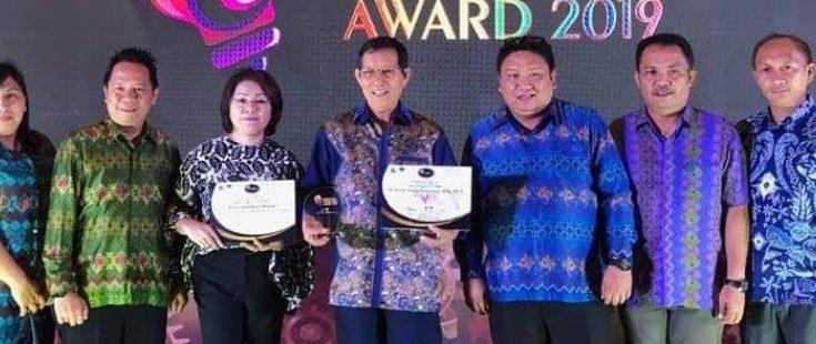 Kreatif dan Inovatif, GSVL Terima Penghargaan Best Pemda dan Best Walikota