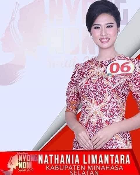 Utusan Minsel, Nathania Limantara Sandang Noni Sulut 2019