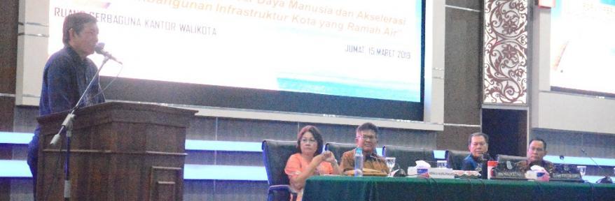 GSVL : Forum RKPD Fokus Bahas Visi Manado Cerdas 2021