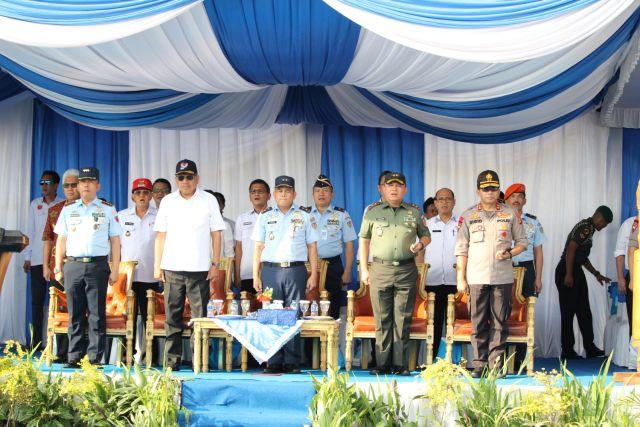 ROR Hadiri Pembukaan Pelangi Nusantara ke 55
