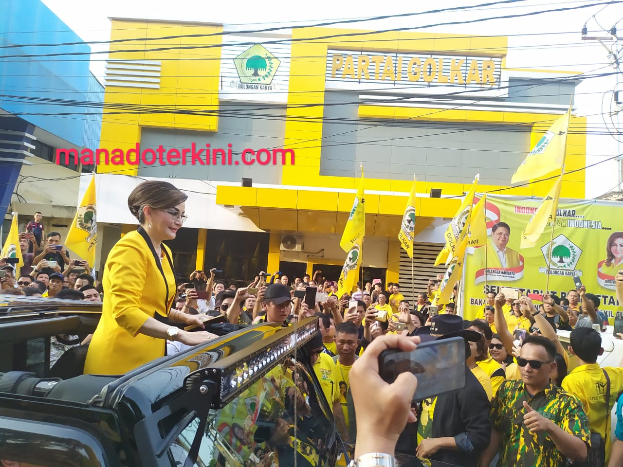 Tetty Paruntu Siap Jadi Gubernur Sulut