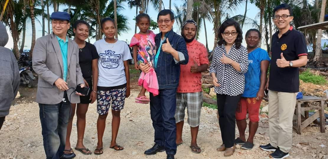 Walikota GSVL Bawa Pesan Damai di Tanah Papua
