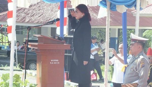 Irup HUT Ke-16 Minahasa Utara, Bupati VAP Ajak Rapatkan Barisan