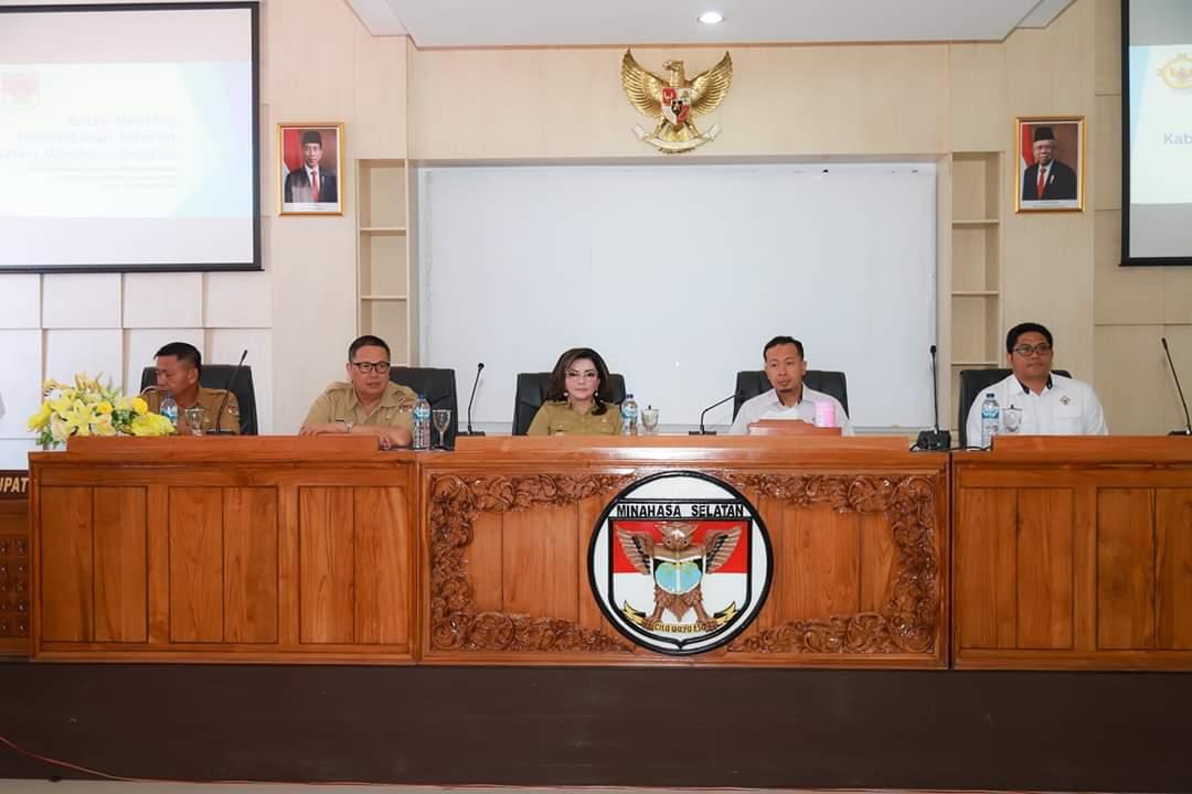 Entry Meeting Dengan BPK, Bupati Warning Kepala OPD/