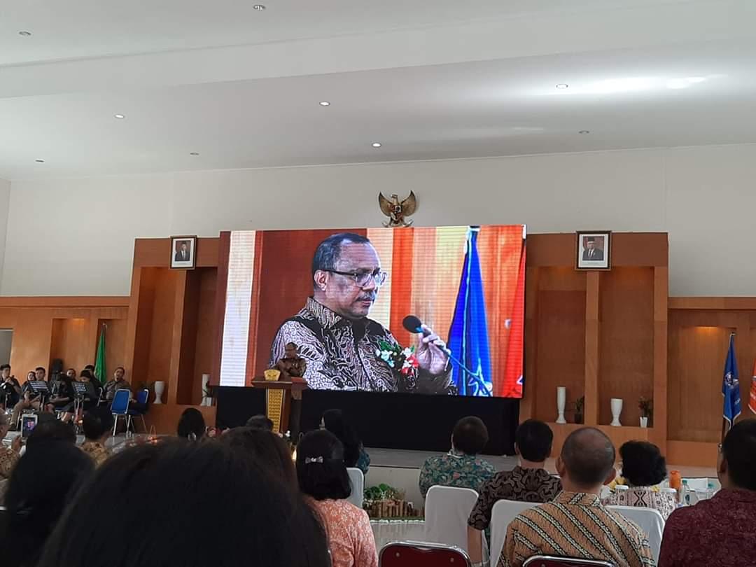 Beri Kuliah Umum di IAKN Manado, Dirjen Bimas Kristen Minta Tingkatkan Kualitas SDM