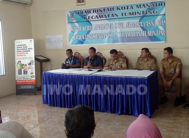 Relokasi Pasar Tuminting ke Buha turus disosialisasikan, PD Pasar Manado data identitas pedagang
