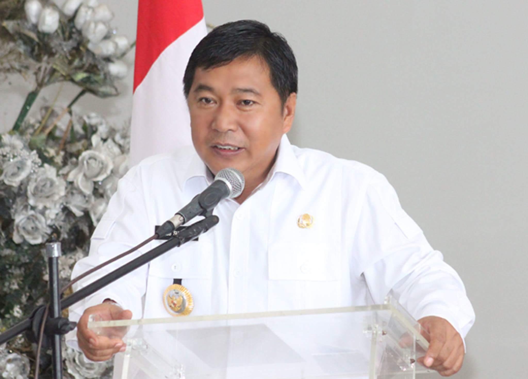 Cegah Longsor, Bupati Mitra Anggarkan 2 M Dinding Penyanga Dispar