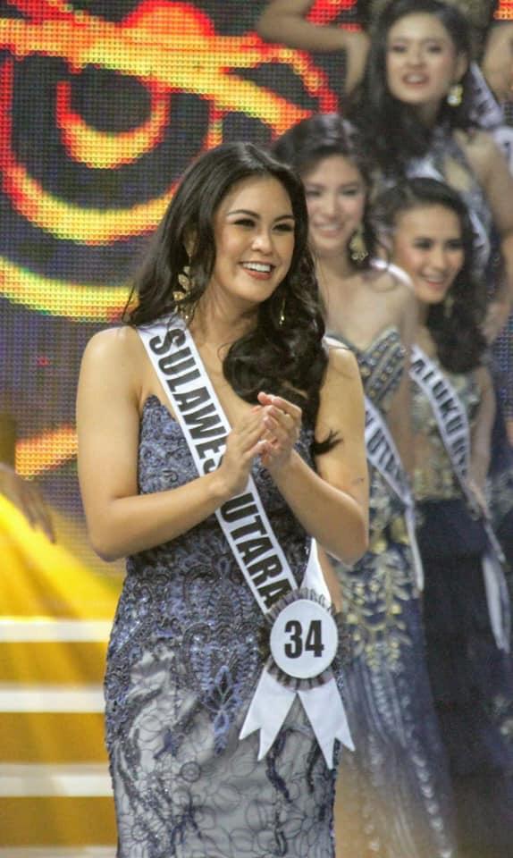 Desiree Roring Sabet Dua Prestasi Dalam Ajang Puteri Indoneaia 2020