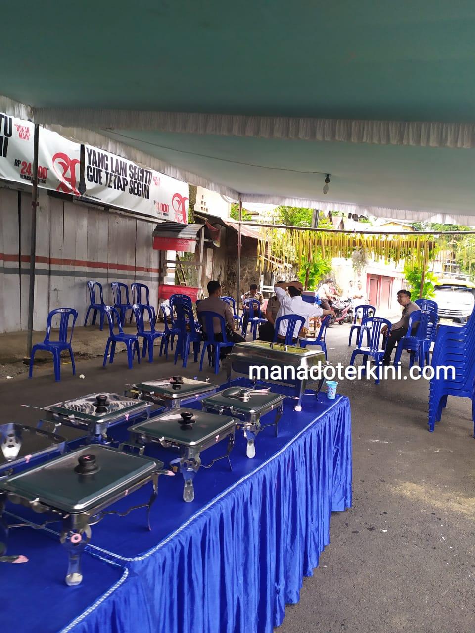 Polisi Bubarkan Acara Resepsi Pernikahan di Manado