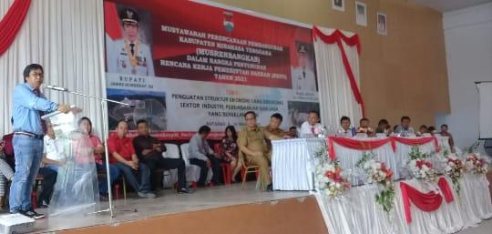 Buka Musrembang, Sumendap Sentil Masalah Infrastruktur