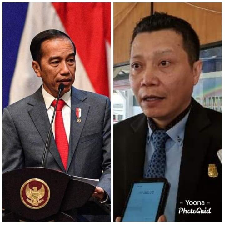 Covid 19 makin menggila, Ini Surat Terbuka Anggota DPRD Manado Maikel Towoliu untuk Presiden Jokowi, Lockdown!