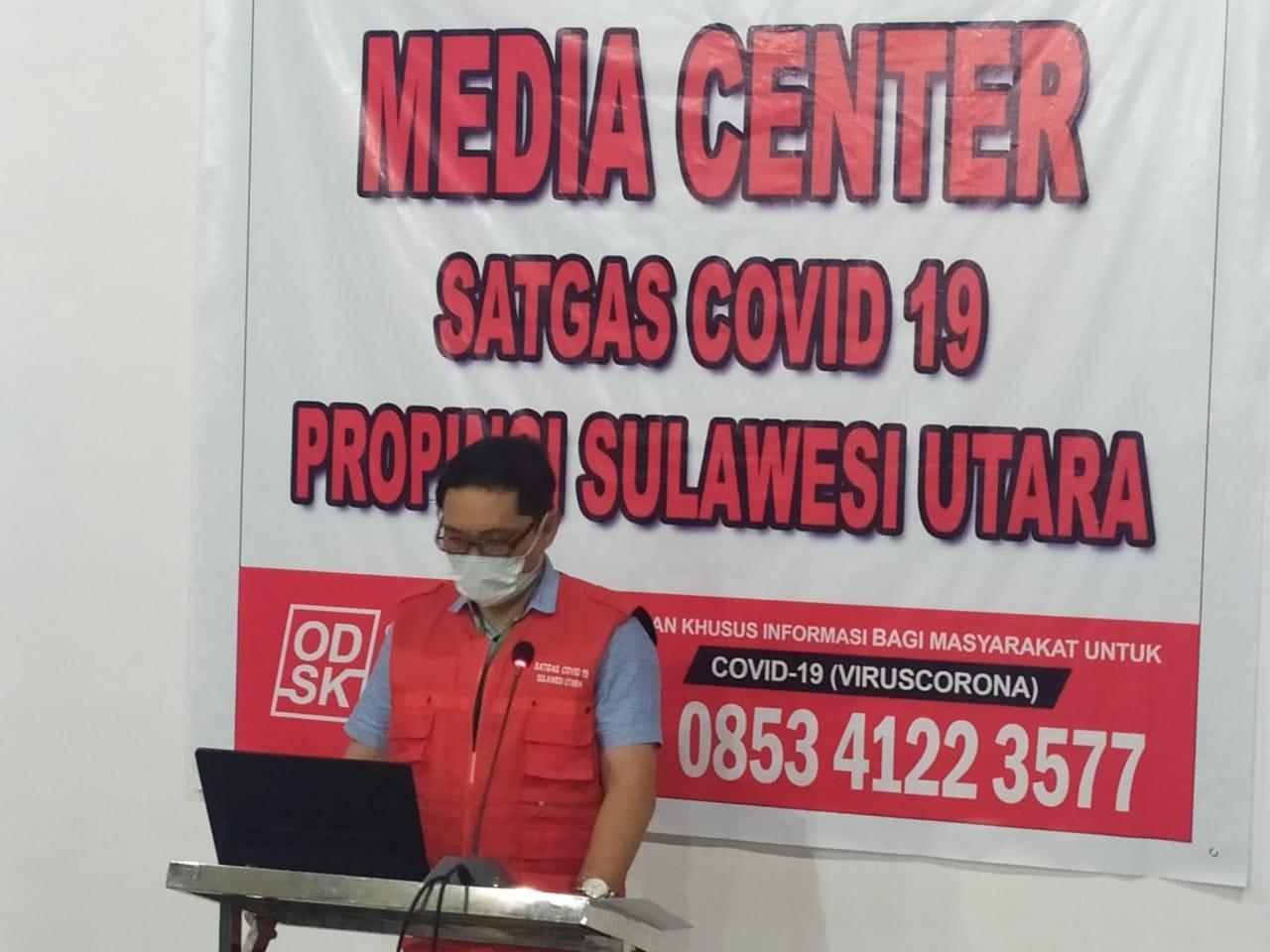 Positif Corona COVID-19 di Sulut Bertambah, Total 5 Orang