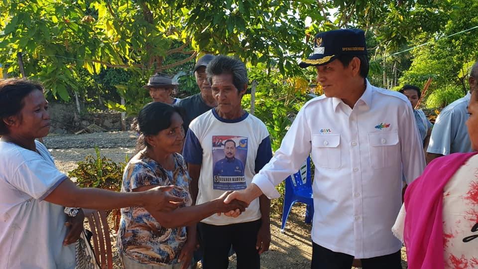 Bukti Nyata Jiwa Sosial Walikota Manado GS Vicky Lumentut