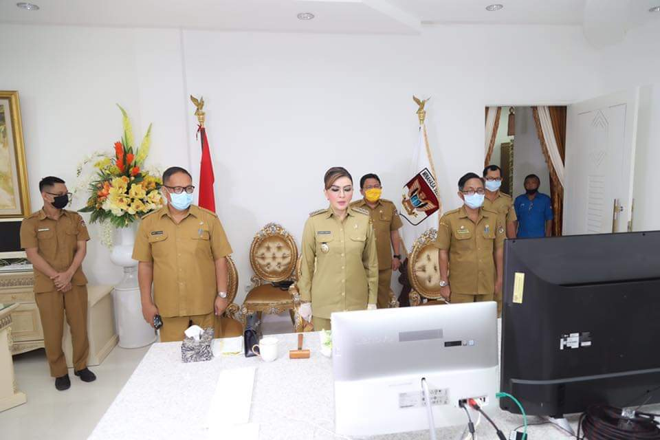 Bupati Buka Musrenbang RKPD Kabupaten Minsel Tahun 2021 Lewat Vicon