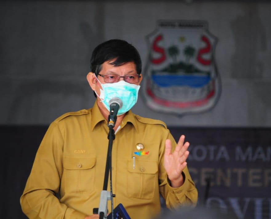WFH diperpanjang hingga 13 Mei, Ini harapan Walikota Manado bagi ASN/THL