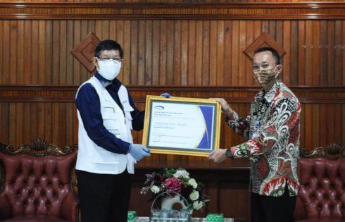 Kapabilitas APIP dari BPKP, Pemkot Manado Raih Level 3