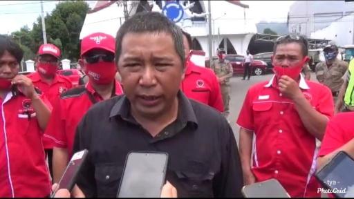 JS Mintah Aparat Tangkap Oknum Pembakar Panji PDIP