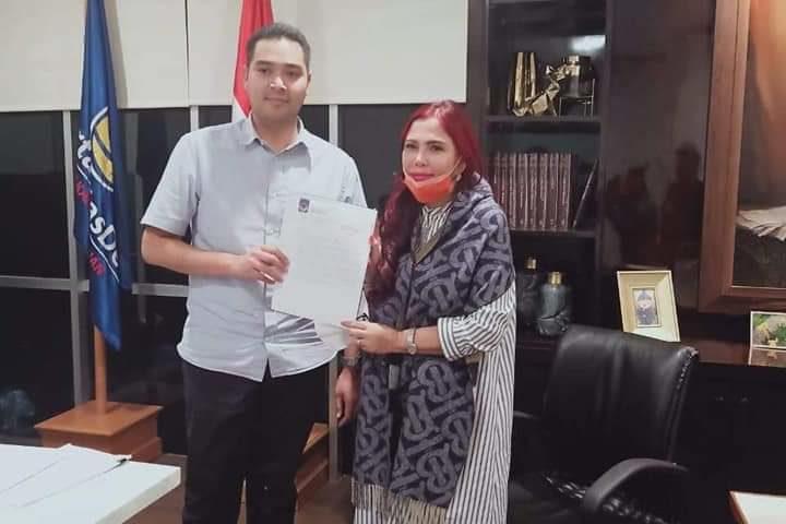 VAP Pegang SK Calon Gubernur Sulut Dari Partai NasDem