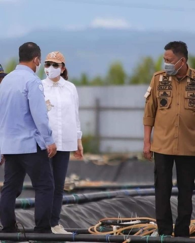 Bupati Minsel Terima Kunker Menteri Kelautan dan Perikanan RI di Desa Bajo