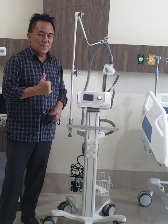 Gubernur Olly Dondokambey Sumbang Ventilator Untuk RS Awaloei