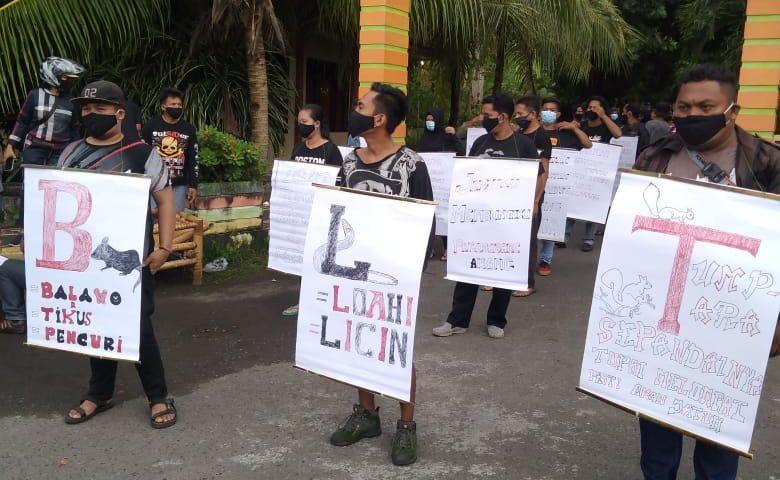 Demo bisu digelar warga Beha