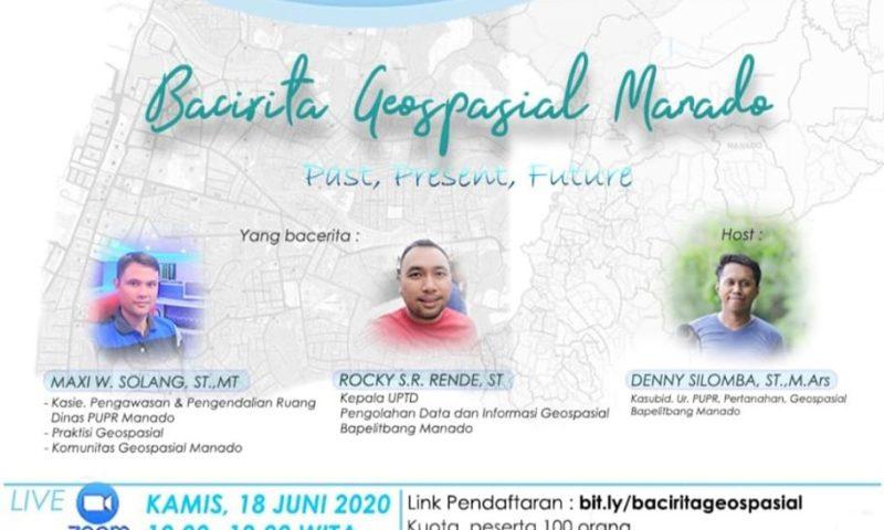 Kamis Besok, Komunitas Geospasial Manado Gelar Wabinar