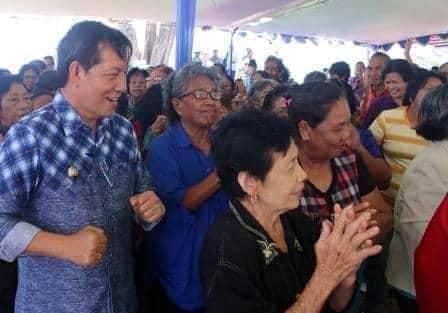 Komitmen GSVL penuhi janji Politik, 37.307 Lansia di Manado terima bantuan sosial