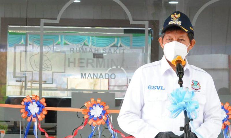 GSVL Resmikan RS Hermina, warga Manado teringat program Universal Coverage