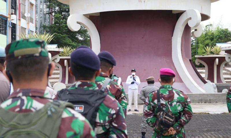 Bersama TNI/Polri tangani Covid-19, Walikota GSVL ajak masyarakat cerdas terapkan 3M