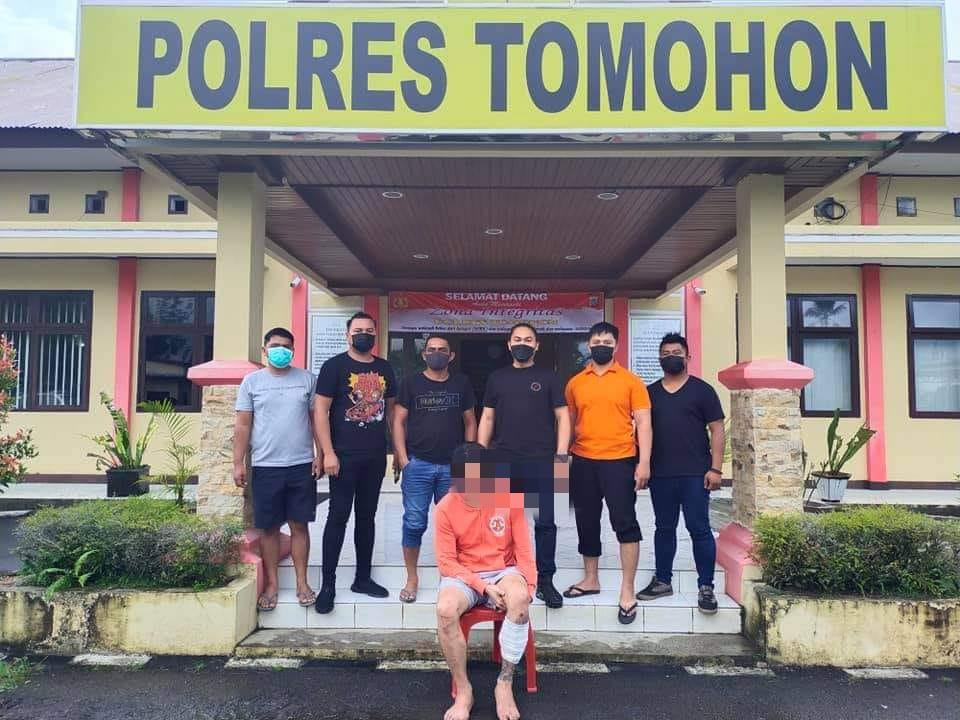 polres tomohon