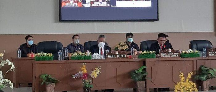 DPRD Minsel Gelar Paripurna Pengumuman Penetapan Calon Bupati dan Wabup Terpilih