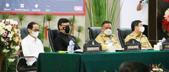 Pemprov Sulut dan Menpan Sinergi Lakukan Percepatan Pelaksanaan Reformasi Birokrasi di Sulut