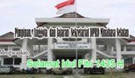 Permalink ke DPRD Minsel mengucapkan Selamat Idul Fitri 1435 H