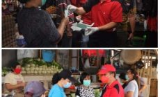 Permalink ke Tekan Angka Covid, Bupati dan Wabup Minsel Bagikan Masker di Pasar 54 Amurang