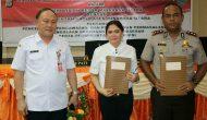 Permalink ke Pertama Di Sulut, Polres dan Pemkab Minut  Tandatangan MoU Pengawasan Dana Desa