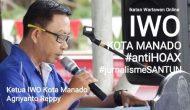Permalink ke IWO Manado Deklarasi Menolak HOAX di Upacara Sumpah Pemuda