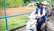 Permalink ke Usai Ibadah di GMIM Sabar Manado Tua, Walikota GSVL bonceng JPAR naik motor