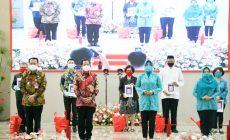 Permalink ke Tito Karnavian Bersama Ketum TP-PKK Launching Gerakan Sulut Bermasker