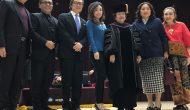 Permalink ke Universitas Nasional Mokpodi Korsel, Anugerakan Megawati Doktor HC