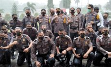 Permalink ke Awal Tahun, 55 Personel Polres Minsel Dapat Hadiah Kenaikan Pangkat