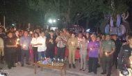 Permalink ke 1000 Lilin Dari Minut Untuk Surabaya, Bupati VAP Kecam Aksi Teroris