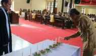 Permalink ke Dihadiri Wabup, Dikpora Minsel Gelar Ibadah Pra Natal Bersama