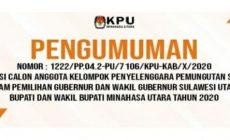 Permalink ke KPU Minut Buka Pendaftaran KPPS