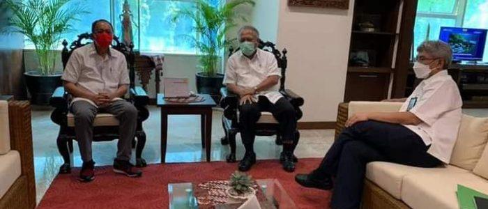 Genjot Penanganan Danau Tondano, ROR Temui Menteri PUPR