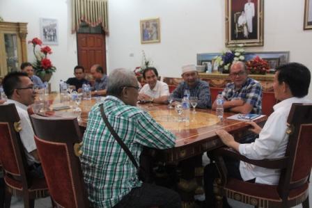 Tokoh Agama dan Walikota Manado Bahas Keamanan Pembangunan Taman Wisata Religi