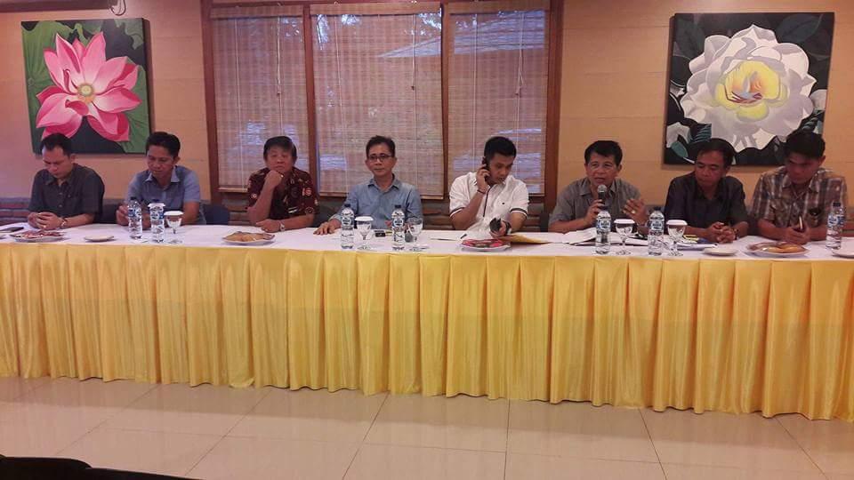 Jelang Pelantikan, Pengurus DPD II PG Minsel Gelar Rapat Perdana