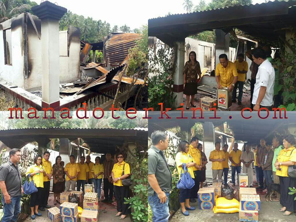 Permalink ke PG Minut Bantu Korban Kebakaran Desa Pinenek