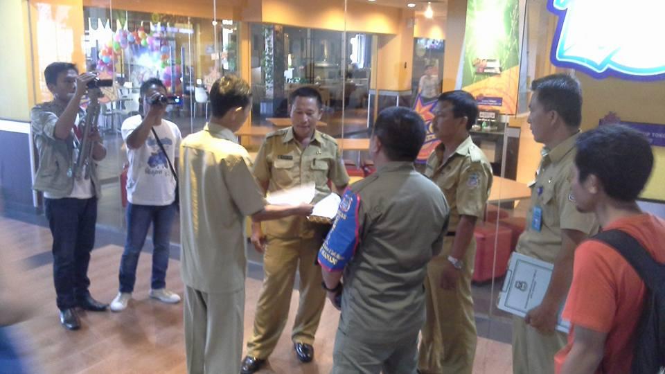 Satgas Gempita Temukan ASN Keluyuran di Mall